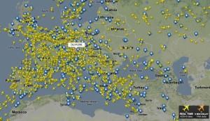 På fly-radar.dk kan du se alle fly og lufthavne + meget mere